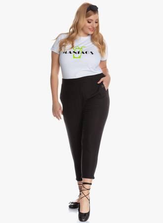 Παντελόνι Κάπρι Μαύρο Λινό 'Yours' 2020_05_26_Maniagz3574 Maniags