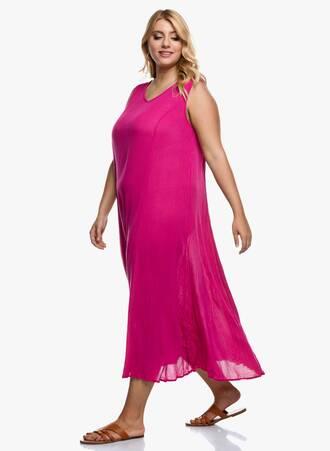 Φόρεμα Αμάνικο Μάξι Φούξια 2020_09_15-Maniags4508 Maniags