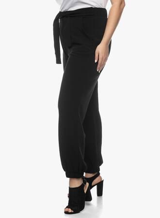Παντελόνι Μαύρο με Ενσωματωμένη Ζώνη 2021_03_26-Maniagz0909 Maniags