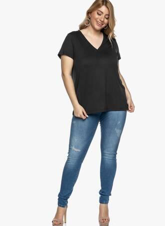 Basic T-shirt Μαύρο 2021_03_30-Maniagz3818 Maniags