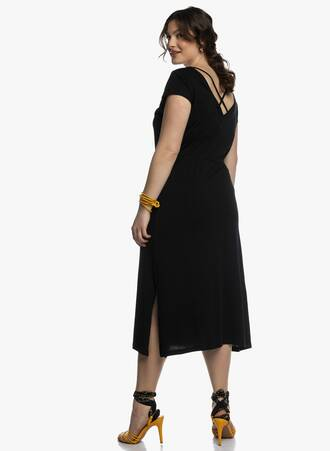 Βαμβακερό Φόρεμα Μαύρο Μάξι 2021_04_27_Maniagz2293-copy Maniags