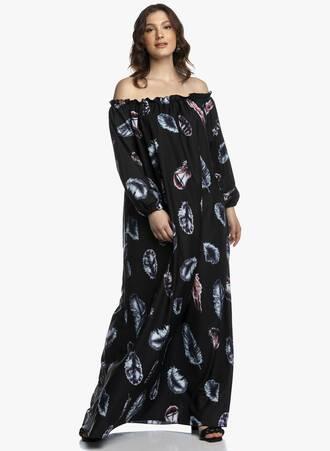 Έξωμο Μάξι Φόρεμα Μάυρο 2021_04_27_Maniagz2715-copy Maniags