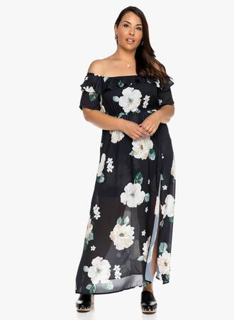 Μάξι Φόρεμα Έξωμο Maniags