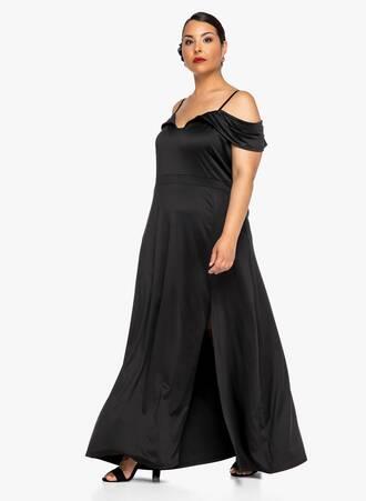 Φόρεμα Maxi Έξωμο Maniags