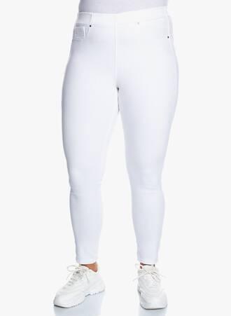 Λευκό Jeggings Ελαστικό Maniags