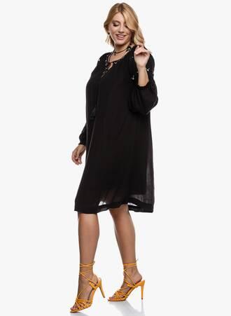 Φόρεμα Boho Μαύρο 2020_09_15-Maniags3061 Maniags