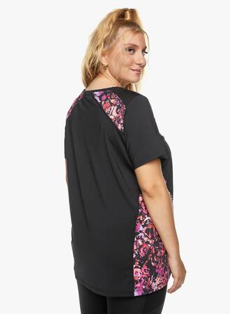 Μαύρο T-shirt με Εμπριμέ Λεπτομέρειες 2021_06_24-Maniagz14329 Maniags