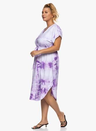 Βαμβακερό Midi Φόρεμα Tie Dye Μωβ 2021_06_25_Maniagz-II3356 Maniags