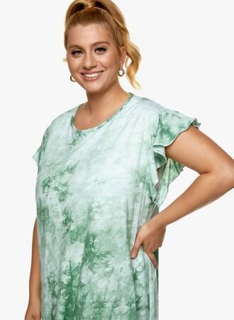 Βαμβακερή Νυχτικιά Tie Dye Πράσινο 2021_06_25_Maniagz-II3388 Maniags