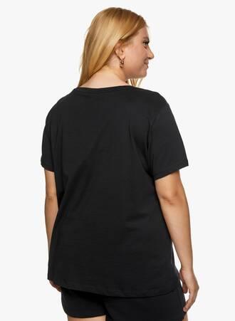 T-shirt Μαύρο με Λεπτομέρεια Παγιέτα 2021_06_25_Maniagz-II3699 Maniags