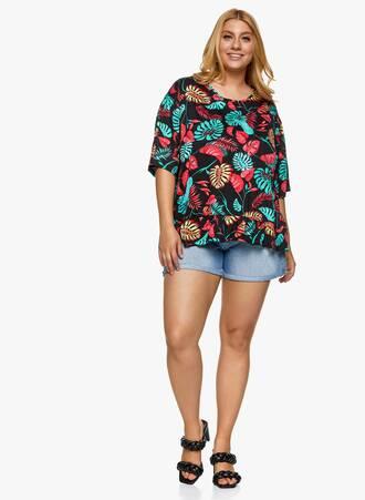 Βαμβακερή Μπλούζα με Βολάν Φλοράλ 2021_06_25_Maniagz-II3767 Maniags