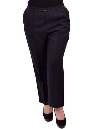 Παντελόνι Μαύρο με Τσάκιση σε Ίσια Γραμμή Maniags