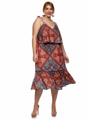 Φόρεμα 'Εθνικ Jersey Maniags