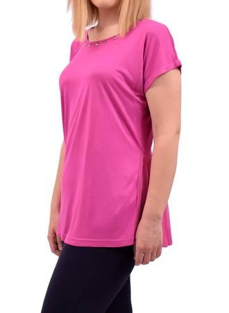 Μπλούζα Magenta με Πιέτα DSC_0227 Maniags