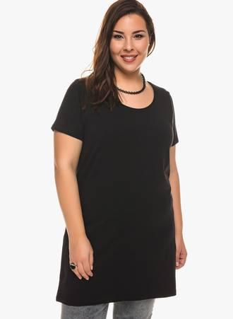 Κοντομάνικη Μπλούζα Jersey Μαύρη Maniags