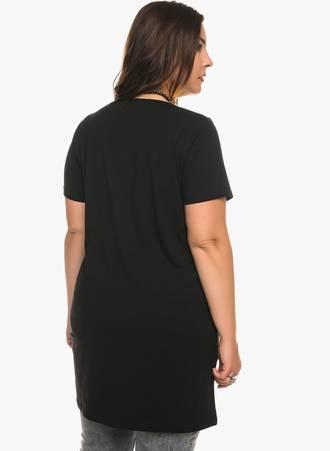 Κοντομάνικη Μπλούζα Jersey Μαύρη 0282 Maniags