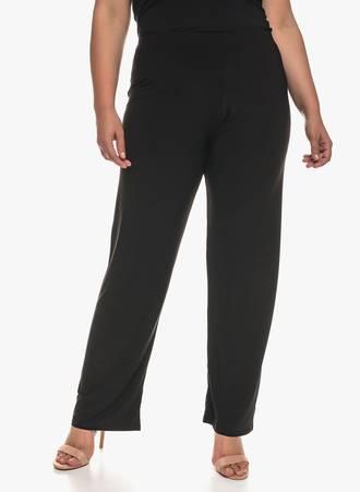 Παντελόνα Μαύρη Ελαστική Maniags