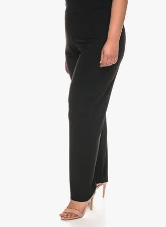 Παντελόνα Μαύρη Ελαστική 0685 Maniags