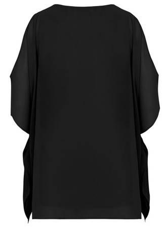 Μπλούζα Μαύρη με Παγιέτα 50445_5 Maniags