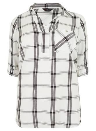 Μπλούζα - Πουκάμισο Καρό Ασπρόμαυρο Maniags
