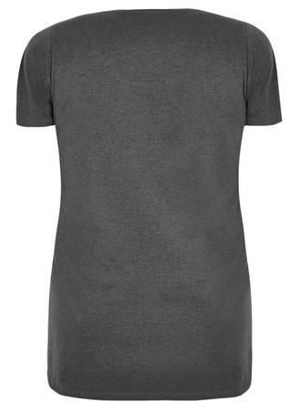 Κοντομάνικη Μπλούζα Jersey Γκρι 50497_1 Maniags