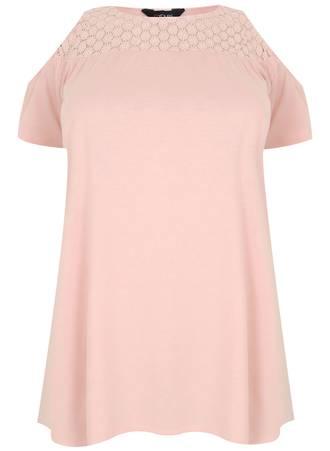 Μπλούζα 'Εξωμη Ροζ Maniags