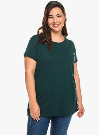 T-Shirt Basic Κυπαρισσί Maniags