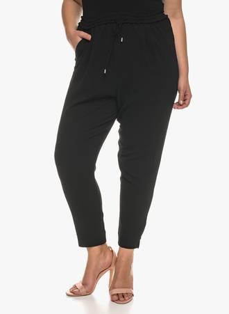 Παντελόνα Μαύρη Κρεπ με Τσέπες 2018_12_Maniacs_gray_0673 Maniags