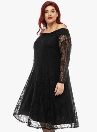 Δαντελένιο Έξωμο Φόρεμα 2019_12_11-Maniags4928 Maniags