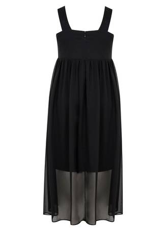 Φόρεμα Αμάνικο Κρουαζέ Μουσελίνας 50651-4_hotl-9c Maniags