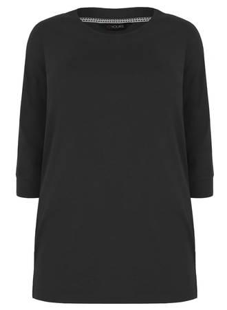 Μπλούζα Μαύρη Basic Maniags