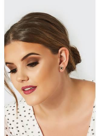 Σκουλαρίκια Χρυσό-Μαύρο 6 Τεμάχια 6_PACK_Gold_Black_Assorted_Stud_Earrings_102802_6d2c Maniags