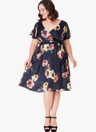 Φόρεμα Σατέν Φλοράλ 0008_svm5-gp Maniags