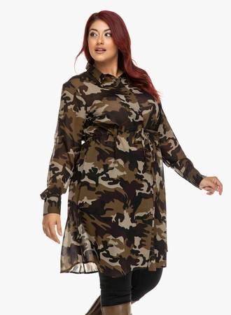 Σεμιζιέ Φόρεμα Army Maniags