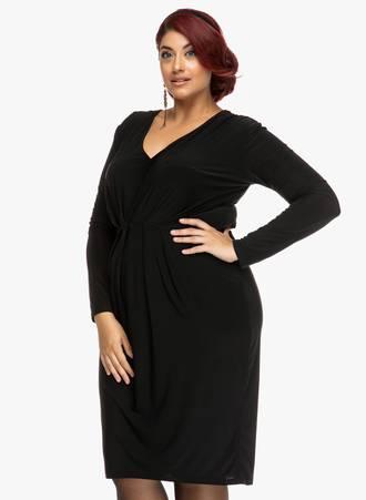 Φόρεμα Μαύρο Ζέρσεϋ 2019_09_20-Maniags3466 Maniags