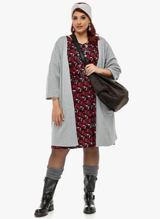 Φόρεμα Εμπριμέ με Βολάν στο Μανίκι 2019_12_13-Maniags0156 Maniags