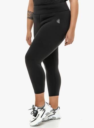 Κολάν Μαύρο Αθλητικό Ankle Maniags