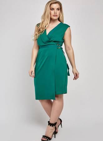 Φόρεμα Ντραπέ με Δέσιμο στη Μέση Maniags