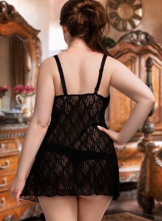 Chemise Δαντέλας 51154_2 Maniags