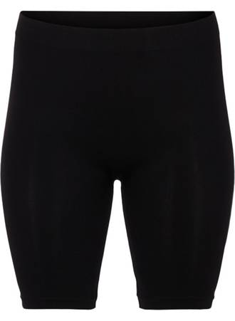 Μαύρο Shorts Χωρίς Ραφές Maniags