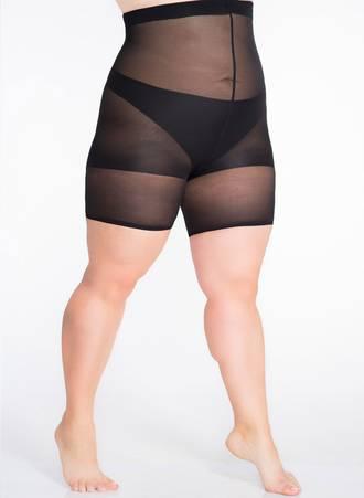 Μαύρο Slimming Shorts για Περιφέρεια 110-140 εκατοστά Maniags