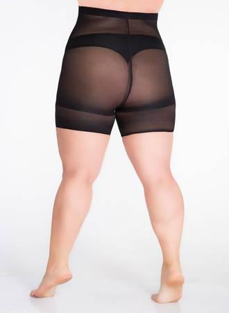 Μαύρο Slimming Shorts για Περιφέρεια 110-140 εκατοστά art147_2 Maniags
