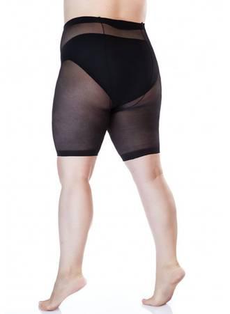 Μαύρο Slimming Shorts για Περιφέρεια 170-200 εκατοστά art150_3 Maniags