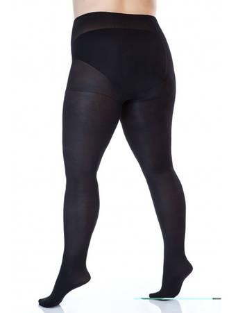 Μαύρο Καλσόν 80 Denier με Διπλό Καβάλο για Περιφέρεια 140-170 εκατοστά art415_3 Maniags