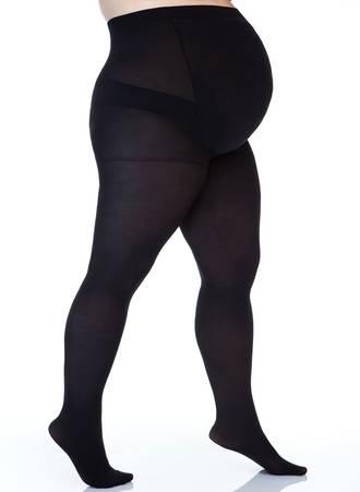 Μαύρο Καλσόν Εγκυμοσύνης για Περιφέρεια 110-140 εκατοστά Maniags