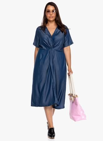 Φόρεμα Μίντι Denim 2019_06_12-Maniags8086 Maniags