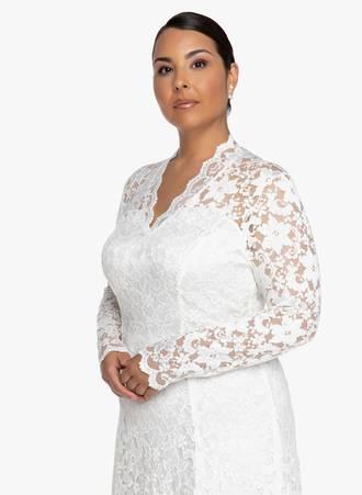 Φόρεμα Δαντέλα Κρεμ 2019_06_12-Maniags8426 Maniags