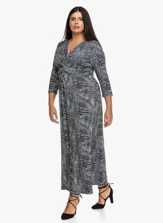 Φόρεμα Maxi Κρουαζέ Maniags