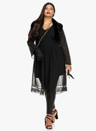 Φόρεμα Μαύρο Διαφανές 2019_09_19-Maniags0165 Maniags