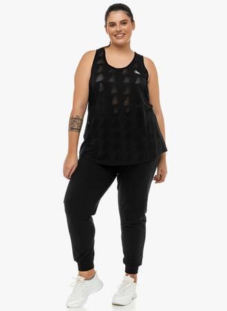 Φόρμα Μαύρη με Λάστιχο στο Τελείωμα 2019_12_13-Maniags2609 Maniags